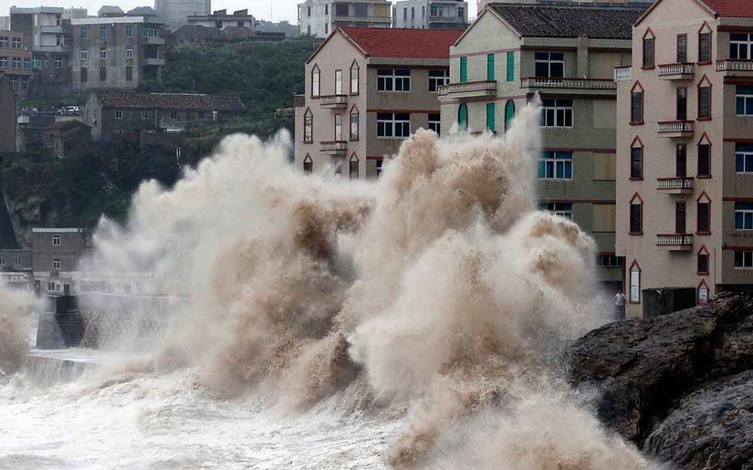 【全球Focus】香港拉响最高级别的台风警报!