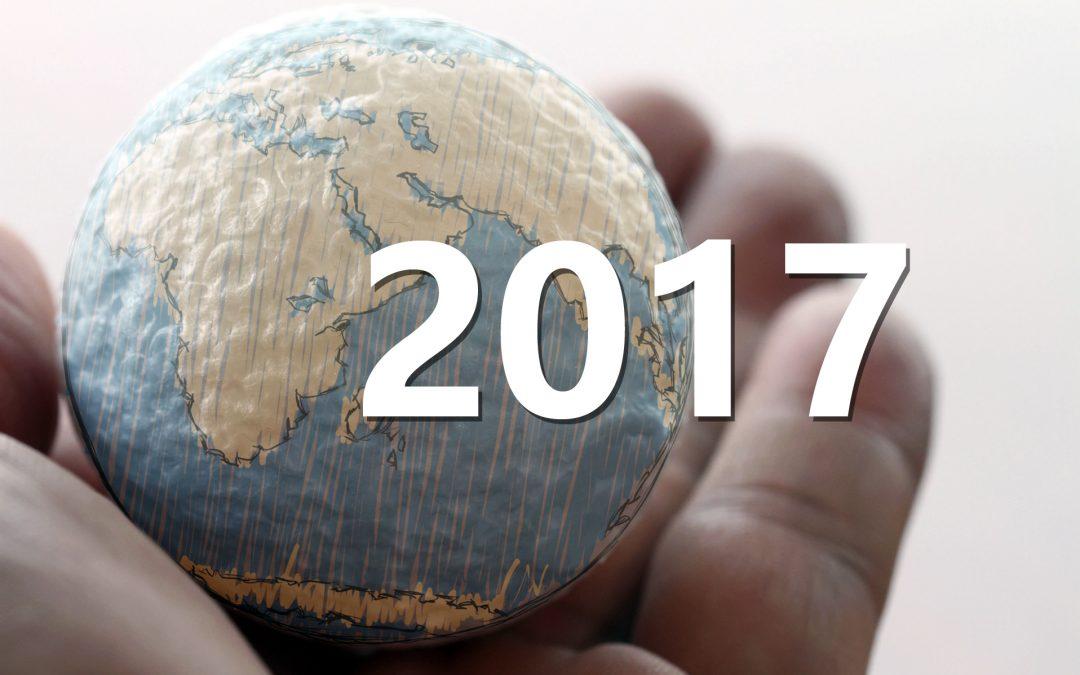 【地球转一圈】2017年,国际发生了什么事?
