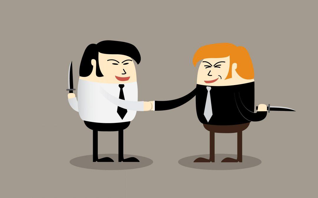 【华丽上班族2.0】办公室政治学:谁才是职场中最可怕的人