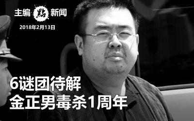 6谜团待解  金正男毒杀1周年