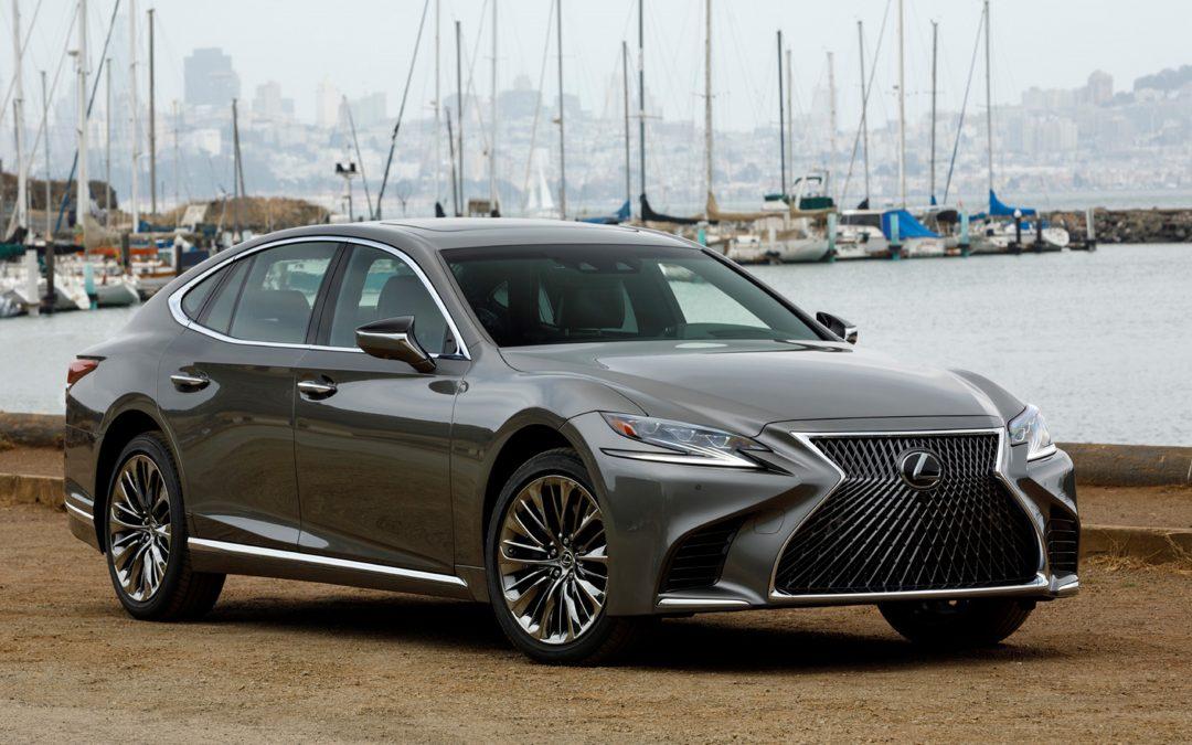 【头文字C】全新第五代 Lexus 豪华旗舰车 LS500
