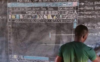 【科技360】非洲老师6年粉笔手绘电脑课,微软看不下去插手介入