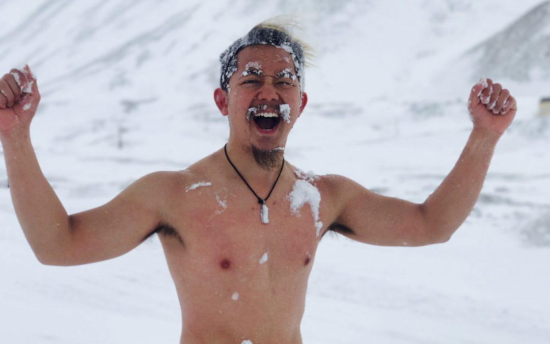 【全球华人】亚洲第一冰人Alan以冷冻唤醒能量