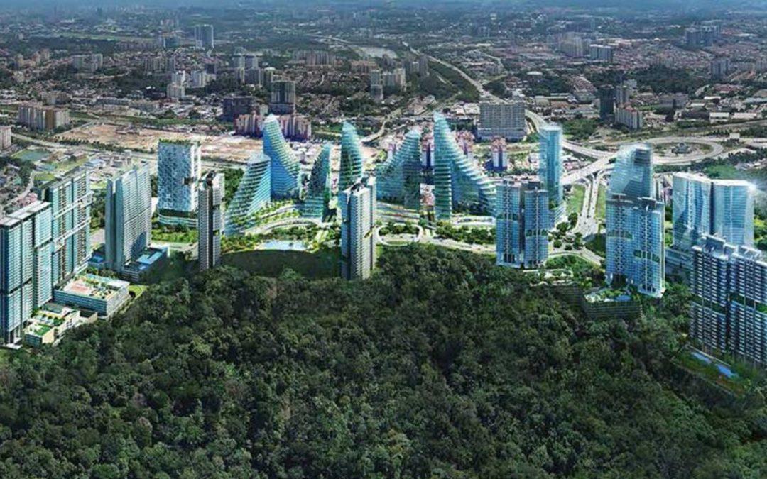 【Skyline】吉隆坡的第一座森林城市 – PANTAI SENTRAL PARK