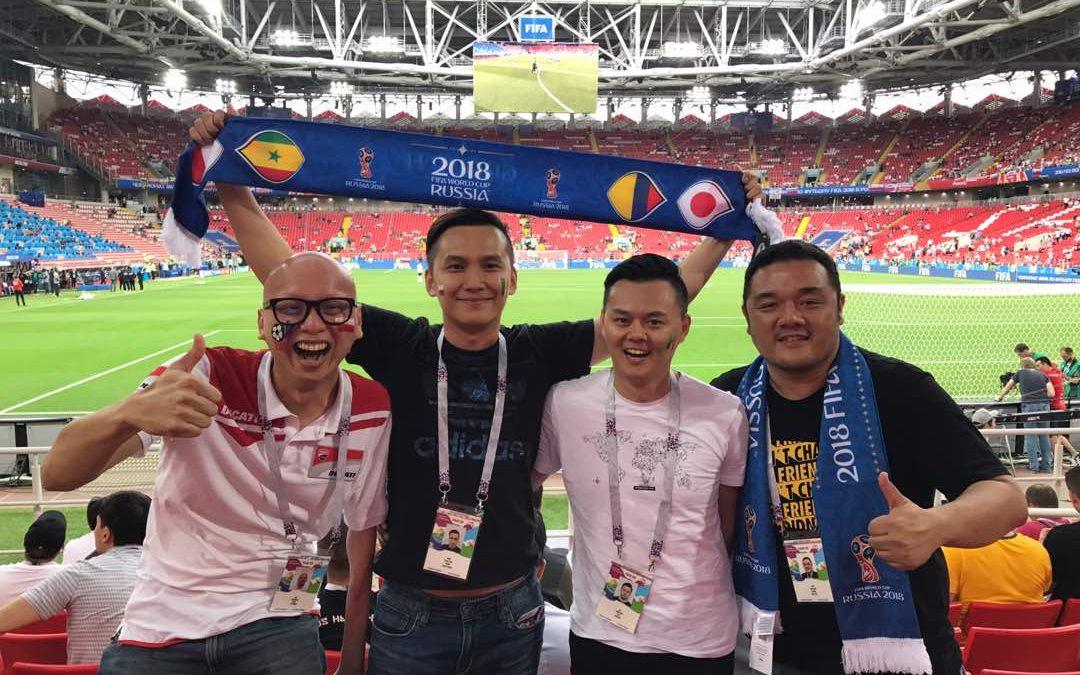 【地球转一圈】电视看世界杯落伍了!现场看才是王道
