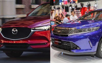 【城市方向盘】日系豪华SUV之争 – Mazda CX-5 vs Toyota Harrier
