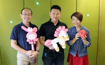 【全球华人】获得美国大赛金奖的气球雕塑大师何坤龙&何志诚