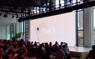 【新闻】比iPhone XS強大!Google Pixel 3新機亮相,拍照功能升級