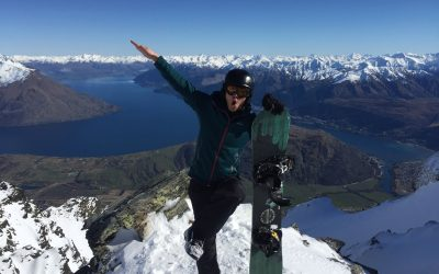 【我们旅行中】大马初哥在纽西兰学会单板滑雪