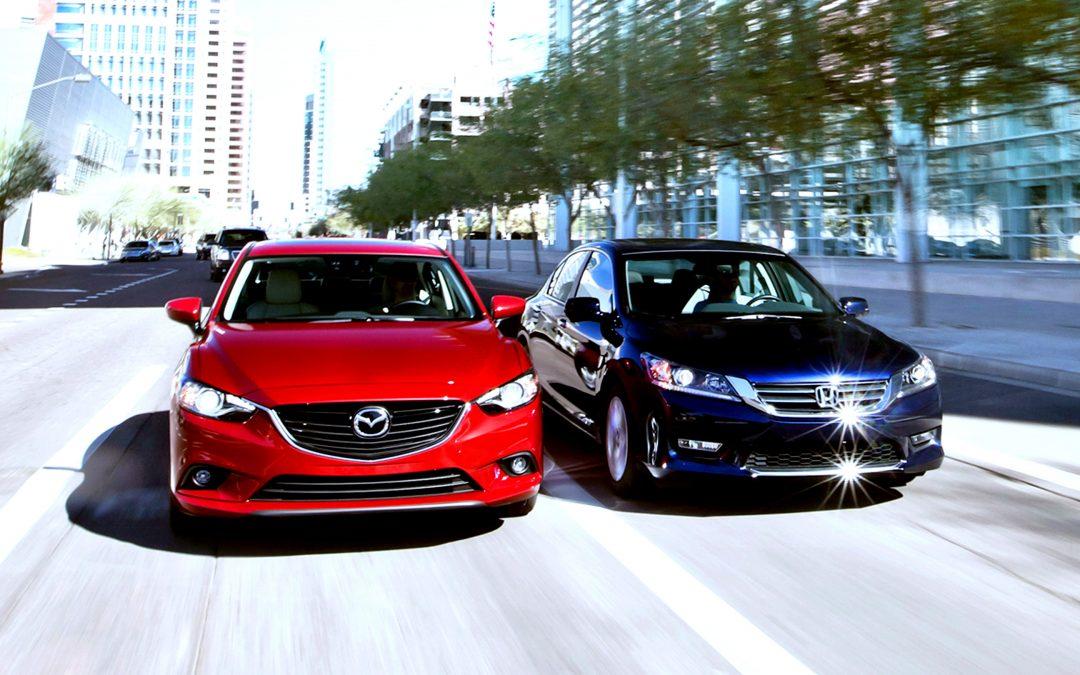 【城市方向盘】日系D级房车入门款之争 – Mazda 6 vs Honda Accord