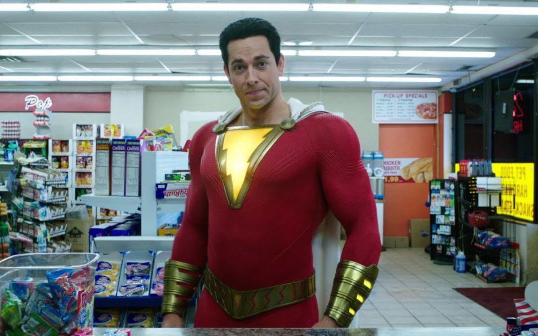 【一出好戏】喊一声《Shazam》,小屁孩马上变身笑料十足的英雄?