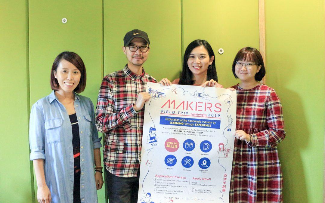 【创业新世代】手作迷的盛典 – 亚洲手创展 Pop Up Asia MAKERS