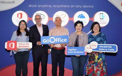 【新闻】U MOBILE与微软联手为中小型企业推出GOOFFICE, 国内首个结合通话、数据及OFFICE应用程序的配套