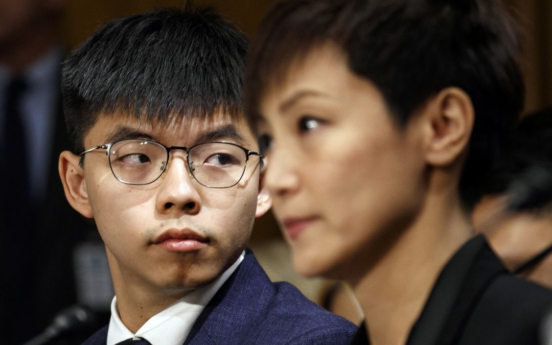 【新闻懒人包】《香港人权与民主法案》:黄之锋、何韵诗能成功游说美国吗?