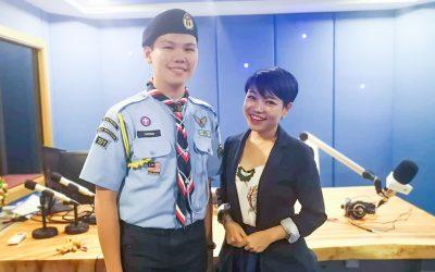 【全球华人】111年来槟州第一位皇家空童军,而且才年仅17岁