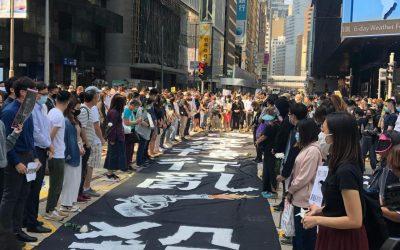 【新闻懒人包】悼念堕楼身亡周梓乐,香港三罢传枪响