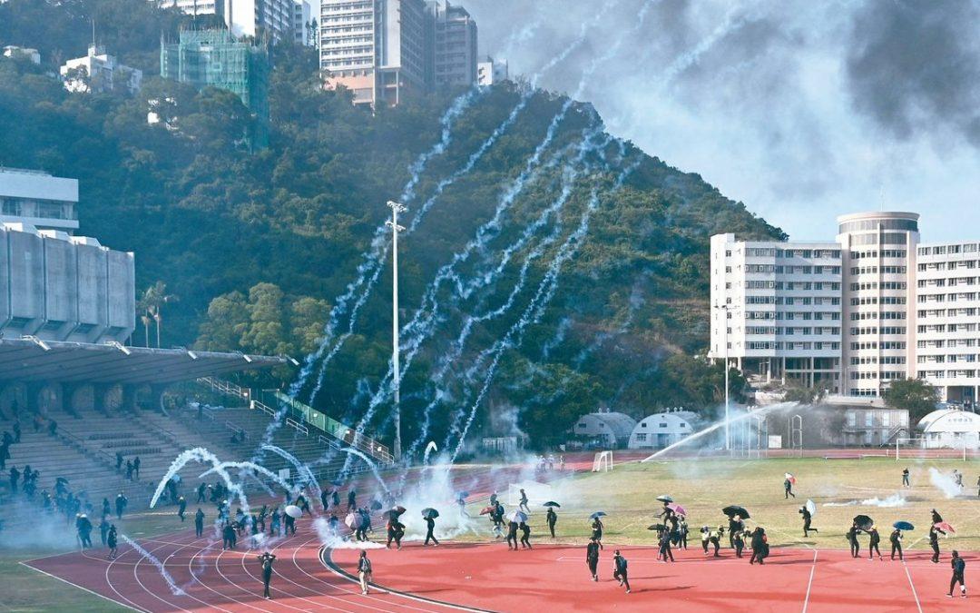 【新闻懒人包】当香港中文大学的校长也在校园里吃了催泪弹