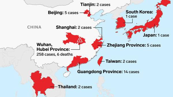 【早班精华】美国台湾泰国都有了,武汉肺炎疫情扩散!