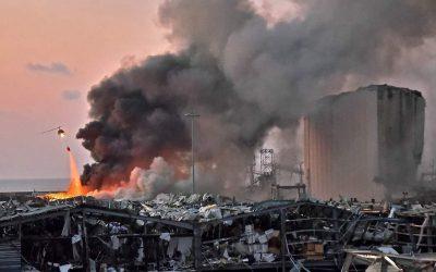 【下班有话题】黎巴嫩大爆炸掀起的四大危机隐患
