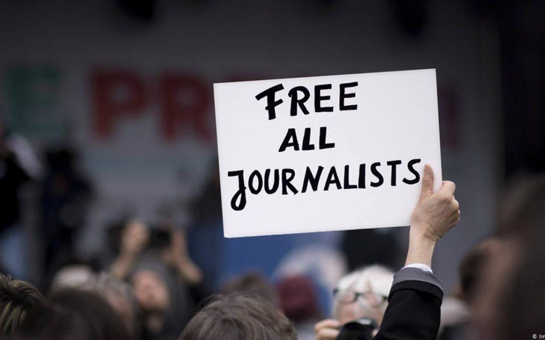 【新闻懒人包】2020全球274记者被关创纪录