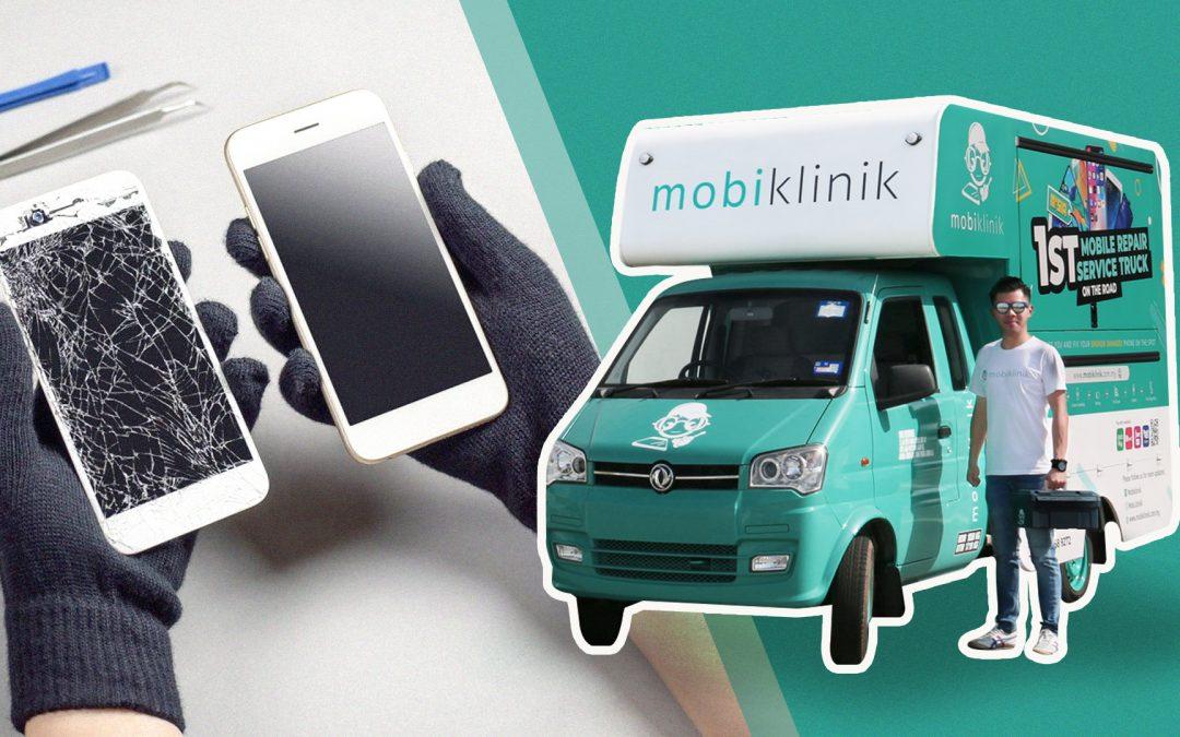 【城市生活家】O2O线上预约线下手机维修平台,MOBIKLINIK直接登门!