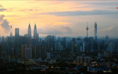 【城市生活家】在黑暗中等待光明,8K航拍吉隆坡传递正能量!