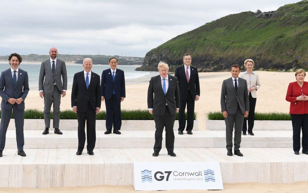【新闻懒人包】G7峰会落幕,七国版「一带一路」出炉?